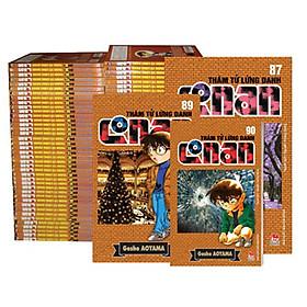 Combo bộ 5 Cuốn Thám Tử Lừng Danh Conan ( từ tập 1 đến tập 98)