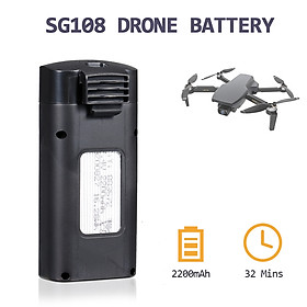 Compatible with SG108 RC Drone RC Drone Battery 7.4V 2200mAh Lithium Replacement Battery Modular Battery for RC