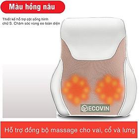 Gối Massage Cổ, Vai Gáy, Máy Mát Xa Lưng và Cổ Hồng Ngoại