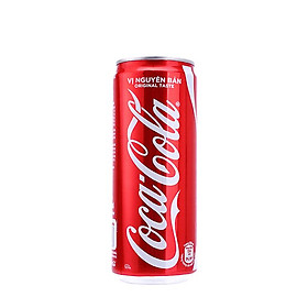 [Chỉ giao HCM] Nước giải khát Cocacola lon 320ml-3497147