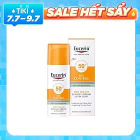 Kem Chống Nắng Kiểm Soát Nhờn Eucerin Sun Gel-Creme Oil Control Dry Touch SPF 50+ (50ml)