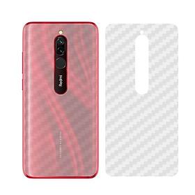 Miếng Dán Mặt Lưng Cacbon Dành Cho Xiaomi Redmi 8 - Hàng Chính Hãng