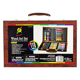 Bộ Vẽ Đa Năng Hiệu Hộp Gỗ Colormate 110W