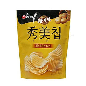 Nongshim Potato Chips Honey Mustard 85g