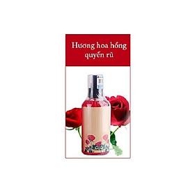 Hình đại diện sản phẩm Dầu massage hương hoa hồng