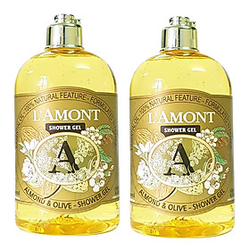 Combo 2 Sữa Tắm Almond 500ml - L'amont En Provence