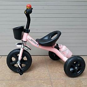 Xe 3 bánh bình nước có bàn đạp (cho bé 2-5t)- màu cho bé gái - chọn màu ngẫu nhiên