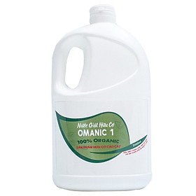 Nước giặt hữu cơ OMANIC loại 2 lít - Giúp quần áo sạch sẽ tự nhiên an toàn cho làn da, quần áo giữ màu