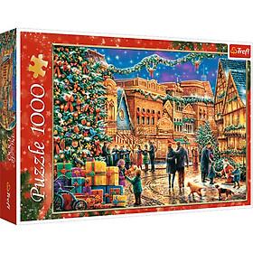 Tranh ghép hình TREFL 10554 - 1000 mảnh Puzzle Giáng sinh ở Thị trấn (jigsaw puzzle Tranh ghép hình