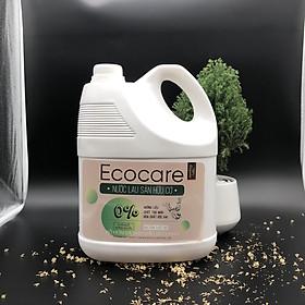 Nước lau sàn hữu cơ đuổi muỗi hương Sả Chanh 4000ml thương hiệu Ecocare