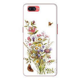 Ốp lưng điện thoại Realme C1 hình Hoa và Bướm