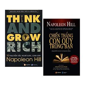 Combo 13 Nguyên Tắc Nghĩ Giàu Làm Giàu - Think And Grow Rich và Chiến Thắng Con Quỷ Trong Bạn