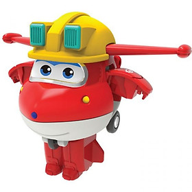 Robot biến hình máy bay mini - Jett Team Xây Dựng SUPERWINGS EU730011