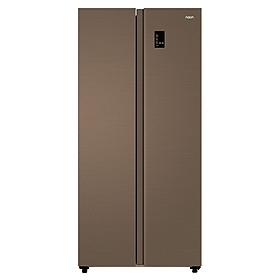 Tủ lạnh SBS Aqua Inverter 480 lít AQR-S480XA(SG) - Hàng chính hãng - Giao tại Hà Nội và 1 số tỉnh toàn quốc
