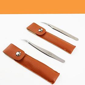 Stainless Steel Eyelash  Tweezers For Eyelash Extension Eye Makeup Tools
