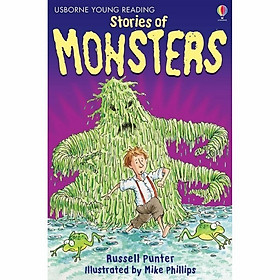 Usborne Young Reading Series One: Stories of Monsters  + CD