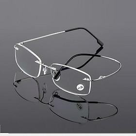 Kính viễn thị gọng titan siêu dẻo mắt kính chống bức xạ KDN- KVT11