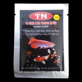 Men Vi Sinh Làm Trong Nước Cao Cấp TN1A, phân hủy chất thải, thức ăn thừa, tạo môi trường sống tốt cho cá  10grTN1A Men Vi Sinh Làm Trong Nước Cao Cấp TN1A, phân hủy chất thải, thức ăn thừa, tạo môi trường sống tốt cho cá 10gr