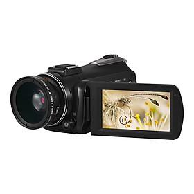 Máy Quay Phim Andoer AC3 4K Có Lens Rời Kết Nối Wifi Màn Hình Cảm Ứng Hỗ Trợ Micro Rời  (24MP) (3.1 Inch) (Zoom30X ) (Lens 0.39)