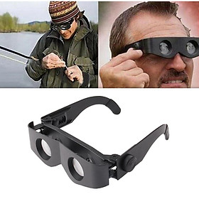 Portable Fishing Telescope Glasses Binoculars Magnifier Adjustable Eyewear