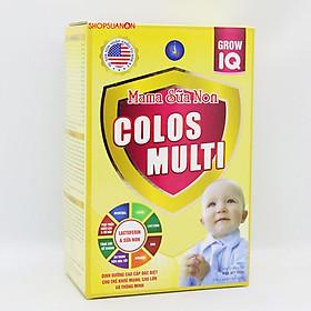 (COMBO 5 Hộp) Sữa Mama Sữa Non Colos Multi Grow IQ. Sản phẩm giúp trẻ khỏe mạnh, cao lớn, thông minh. Hàng Chính Hãng