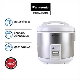 Nồi cơm điện nắp gài Panasonic PANC-SR-MVN107LRA (1L) - Hàng Chính Hãng