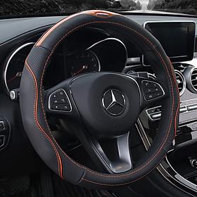 Bọc vô lăng sợi carbon phổ quát phong cách hàn quốc cho xe ô tô