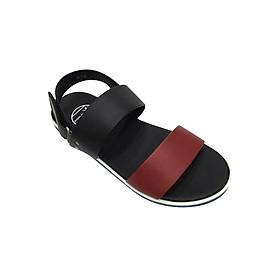 Giày Sandal 2 Quai Ngang Nam Everest - Eve03 D137 (Đen Phối Đỏ)