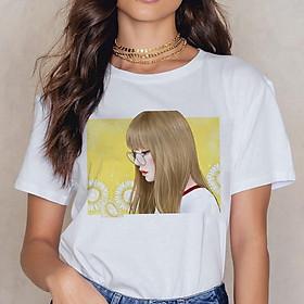 Áo LISA Black Pink áo phông in hình Lisa