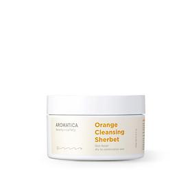 Sáp làm sạch da chiết xuất cam Aromatica Orange Cleansing Sherbet 180g