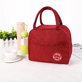 1 Túi giữ nhiệt cơm trưa văn phòng kiểu Nhật, đựng hộp thức ăn gọn gàng không bay hơi – Lunch Bag A