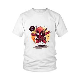 Áo thun nam thời trang Quái Nhân Deadpool Chibi M5