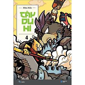 Sách - Tây Du Hí (Tập 4)  (tặng kèm bookmark)