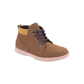 Giày Boot Da Lộn Zapas GB002BR - Nâu