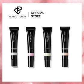 Perfect Diary 4PCS Hydrating Silky Skin Perfecting Face Primer Cream Make Up Base Pore Minimizing Makeup