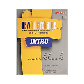 New interchange intro Workbook FAHASA Reprint Edition