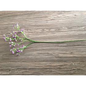 Hoa Baby giả hoa Gypsophila nhựa PU giả cao cấp trang trí nhà giống thật 99%