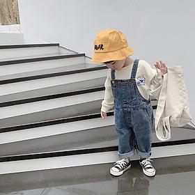 Yếm jean cho bé trai và bé giá
