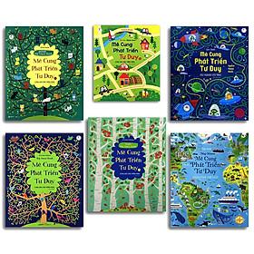 Bộ 6 Cuốn Sách Mê Cung Phát Triển Tư Duy - Càng Chơi Càng Thông Minh