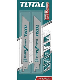 Bộ lưỡi cưa kiếm (cưa kim loại) Total TAC52922EF