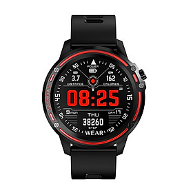 Microwear L8 IP68 Waterproof Smart Watch with 1.2-inch 240*240-pixel Display Screen BT4.0 Pedometer Calories Distance