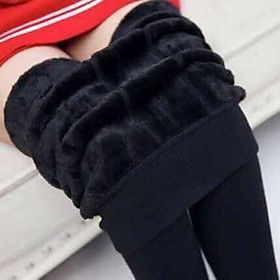 Quần legging lót lông QUẢNG CHÂU siêu mềm, siêu ấm