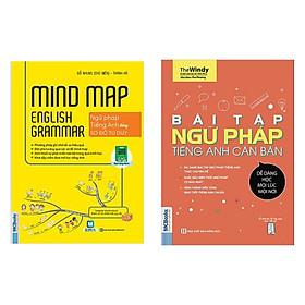 Combo học Tiếng Anh tại nhà: Bài Tập Ngữ Pháp Tiếng Anh Căn Bản (Tái bản 2020) + Mindmap English Grammar - Ngữ Pháp Tiếng Anh Bằng Sơ Đồ Tư Duy