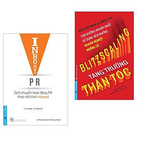 Combo 2 cuốn sách hay về kinh tế :  Inbound PR - Dịch Chuyển Hoạt Động Theo Mô Hình Inbound + Tăng Trưởng Thần Tốc