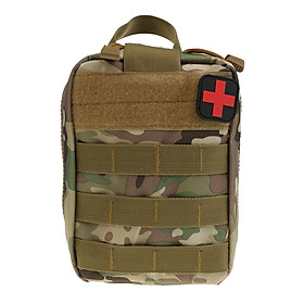 MOLLE Rip Away Medic EMT Pouch IFAK First Aid Bag Emergency Utility Pouch Water Resistant Tough & Durable