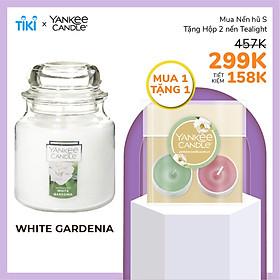 Nến hũ Yankee Candle size S - White Gardenia (104g)