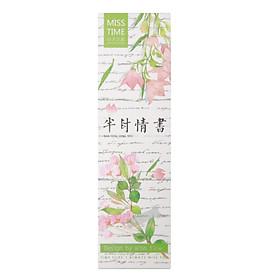 Hộp 30 Bookmark Đánh Dấu Sách Hoa Mùa Hạ