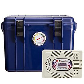 Combo hộp Chống Ẩm Eirmai R11 và máy hút ẩm ( 12L ) - Hàng chính hãng