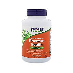 Viên Uống Now Prostate Health Từ Cây Cọ Lùn, Beta-Sitosterol & Lycopene