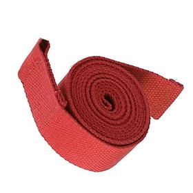 Đai Tập Yoga Cho Phụ Nữ (3.8 X 180 Cm) - Đỏ-1